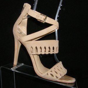 Ivanka Trump Drita beige leather heels 9M